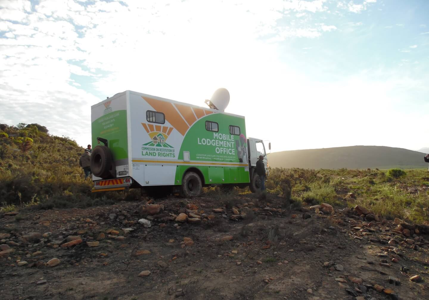 Land reform mobile offices travelling to remote communities